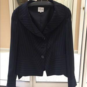Armani striped vintage blazer